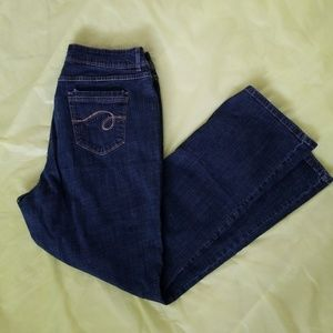 RIDERS by LEE medium wash straight leg jeans